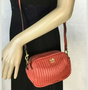 NEW COACH MADISON PLEATED SM CROSSBODY